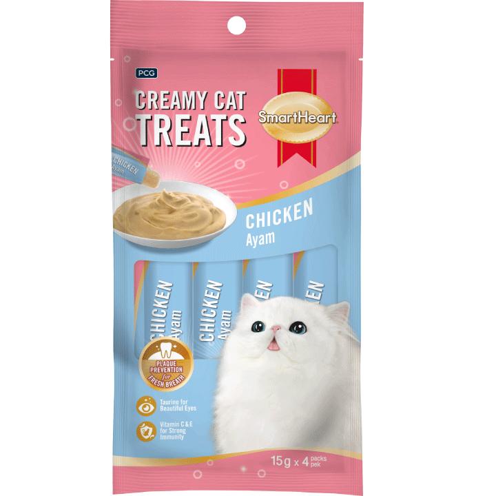 SmartHeart Creamy Treats – Chicken Flavor